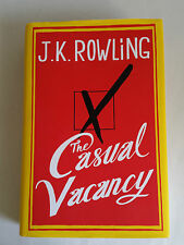 2012 First Edition & Dust Jkt. THE CASUAL VACANCY. J.K. Rowling. Little, Brown