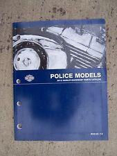 2012 Harley-Davidson Motorcycle Police Models Parts Catalog 99545-12  Bike V