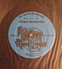 Radio Show: KING BISCUIT FLOWER HOUR 3/27/83 GREG KIHN BAND LIVE IN CONCERT