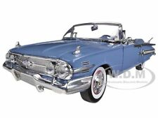 1960 CHEVROLET IMPALA CONVERTIBLE BLUE 1/18 DIECAST CAR MODEL BY MOTORMAX 73110
