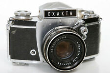 Exakta VX IIa 958695 35mm Camera With Zeiss Pancolor 50mm f2 Lens
