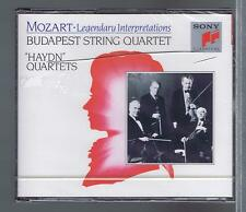 MOZART 2 CDS SET NEW HAYDN -QUARTETS BUDAPEST STRING QUARTET