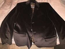 Calvin Klein Brown Velour Blazer/Sport Coat 42R