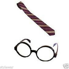 NEW WORLD BOOK WEEK WIZARD POTTER NECK TIE AND GLASSES BOOK DAY CHILDRENS HARRY