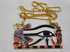 NEW ANCIENT EGYPTIAN EYE HORUS PECTORAL NECKLACE OCCASION GIFT
