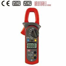 UNI-T UT204A Digital Clamp Meter DMM AC/DC Volt Amp Resistance Frequency Test