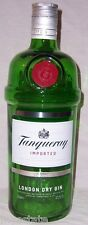 New TANQUERAY Dry Gin Green Glass 3 Liter Large Dummy Display Bottle Barware