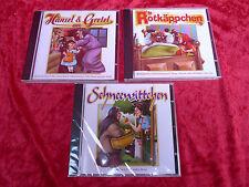 3 CD `s__Märchen__Rotkäpchen, Schneewitchen, Hänsel und Gretel....__neu  !