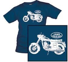 T-Shirt JAWA Motorrad ab 1950 2 Zylinder 350 ČSSR Janeček + Wanderer Lizensbau