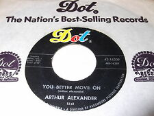Arthur Alexander: You Better Move On / A Shot Of Rhythm And Blues 45 - Soul