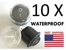 PONTOON Boat REPLACEMENT Dash Switch Marine part - Universal 12v DC WATERPROOF
