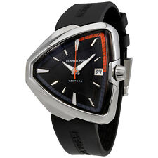 Hamilton Ventura Elvis80 Black Dial Mens Quartz Watch H24551331