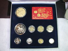 S-21: SINGAPORE Year of Horse 2002 Prosperity Set in original case/box