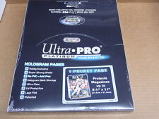 Ultra Pro Platinum Series 1 POCKET PAGE 8 1/2 X 11 MAGAZINE 100 PAGES BOX NEW