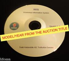 Saab 9-3  9400  2001  WIS Service Repair Manual