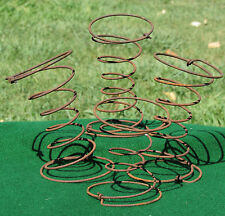 4 Rusty Wire BED Springs ? NO!!  Antique CAR 1929 Graham Paige Primitive Crafts