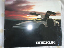 Bricklin brochure 1975 USA market