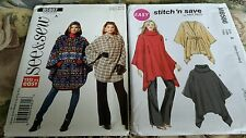 Ladies coat jacket sewing patterns McCalls and See&Sew