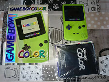 Nintendo Game Boy Color Lima (Lime) Excelente PAL ESP
