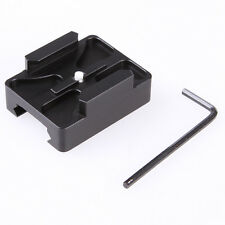 Aluminum Gun 20mm Rail Mount for GoPro HD HERO 4 3 3+ 2 Camera Picatinny Side