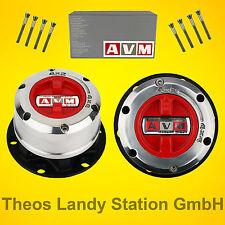 Freilaufnaben für Mitsubishi L200 K74 -HEAVY DUTY- von AVM, Premium Freilaufnabe