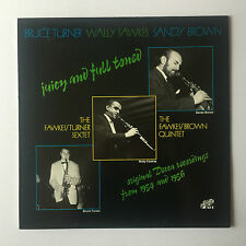 The Wally Fawkes - Bruce Turner Sextet - Juicy & Full-Toned - Vinyl LP