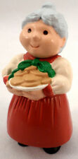 Hallmark Merry Miniatures 1989 Mrs. Clause With Cookies
