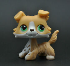 Without Magnet Pet Littlest Collie Dog Child Girl Figure Toy Loose Cute LP927