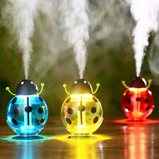 Beetles Ladybug Aroma LED Humidifier Air Diffuser Purifier Atomizer Home Office
