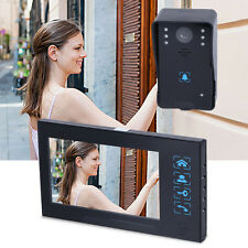 "7"" Wireless LCD Video Door Phone Doorbell Intercom Camera Monitor Home Security"