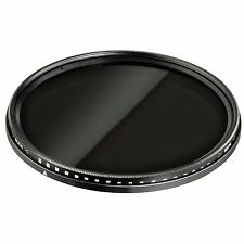 58mm ND Variable Filter Neutral Density Adjustable ND2-ND400 uk seller