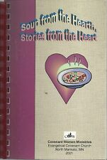 *NORTH MANKATO MN 2001 SOUP FROM THE HEART COOK BOOK EVANGELICAL COVENANT CHURCH
