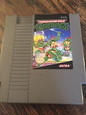 Teenage Mutant Ninja Turtles Original Nintendo NES Cart Works Good NE2