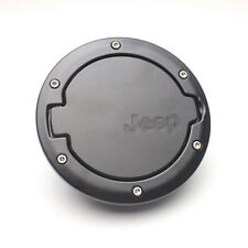 New ABS Black Gas Tank Cap Cover Fuel Filler For 07-14 Jeep Wrangler JK 2/4 Door