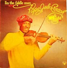 Papa John Creach & Midnight Sun I'm The Fiddle Man Lp Vinyl 33 Giri
