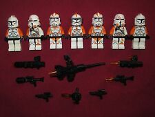LEGO Star Wars minifigure LOT Commander Cody,212th Battalion Clones,Paratroopers