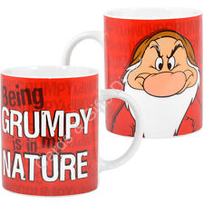 Disney Grumpy Mug Tea Coffee Cartoon Film Seven Dwarfs Gift Boxed