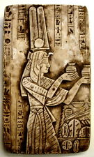 "Ancient Egyptian Wall Sculpture 16"" Isis Offering Ceremony Art NEW"