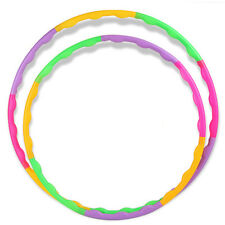55CM Adjustable Colourful Kid Hula Hoop Child Sports Aerobics Fitness Gymnastic