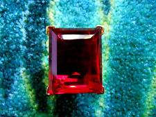 """Kenneth Jay Lane Large Crystal Ruby Adjustable Ring 5 - 9 """"As Is"""""""