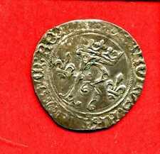 ( MD.33) BRETAGNE CHARLES VIII 1483-1498 KAROLUS DE BRETAGNE (TTB+)