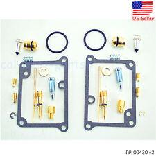 For Yamaha Banshee YFZ350 CARBURETOR Carb Rebuild Kit Repair YFZ 350 2 Sets