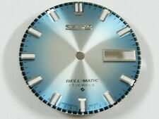 New BLUE DIAL for SEIKO 4005 4006 BELL MATIC Alarm Automatic Watch