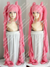 """cosplay wig Sailor Moon Chibi Usa Pink modelling wig Costume party wig 39"""" 100cm"""