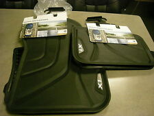 BMW 2016 2017 X1 OEM ALL WEATHER MATS FRONT AND REAR 4 PIECE SET BLACK ACCENT