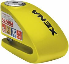 Xena XX-6 Motorcycle Disc Lock with Alarm - Yellow XX6 XX-6-Y 10-0102