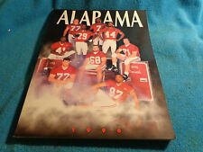 Collectible 1996 Alabama Football Media Guide Coach Gene Stallings Last Year