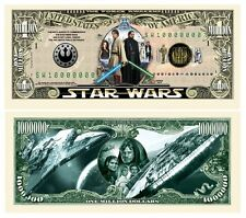 25 Star Wars Money Fake Dollar Bills Million Novelty Promotional Lot
