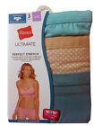 "Hanes Ultimate Women's Hipster 3-Pack 2XL-4XL ""Cotton Comfort TAGLESS"" ""STRETCH"""