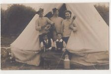 Camping, Early RP Postcard, B584